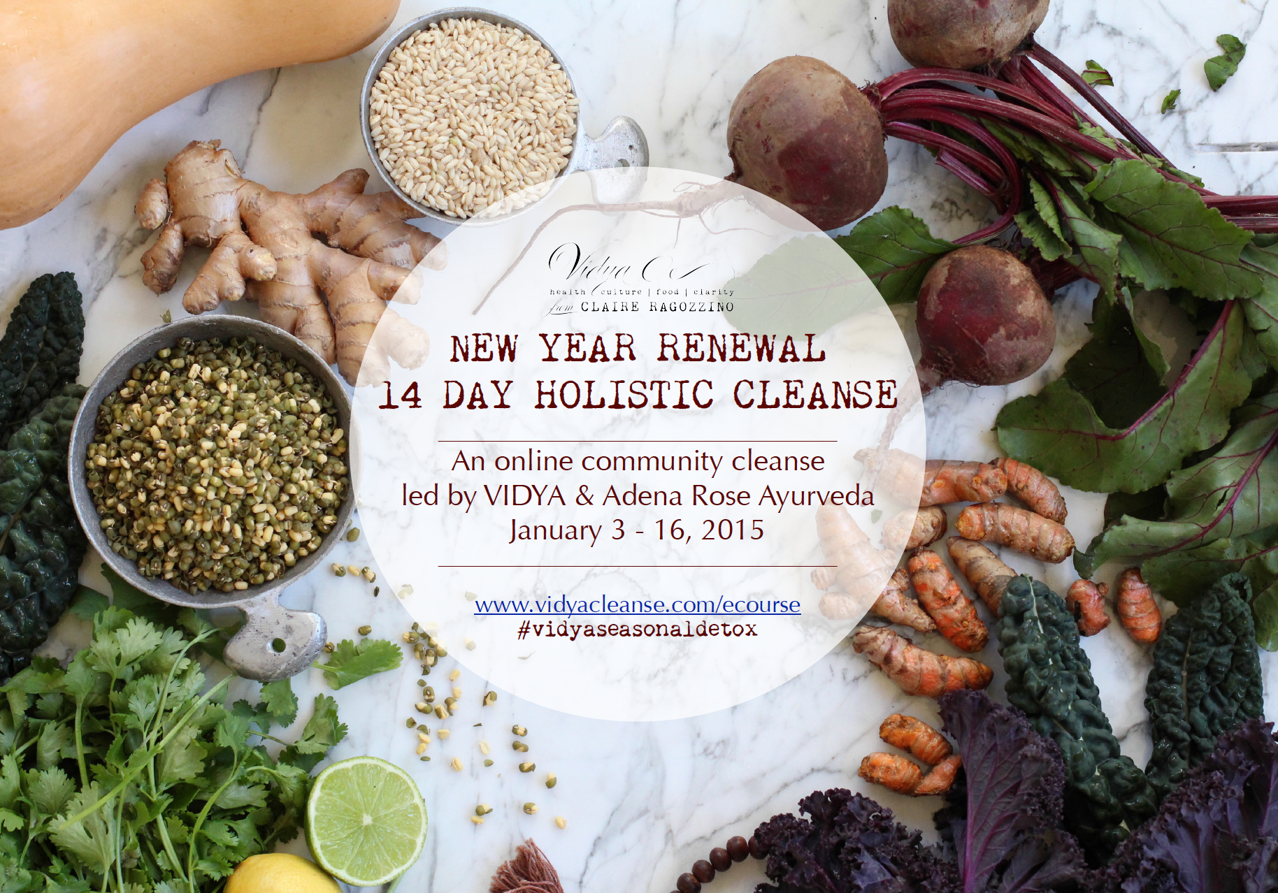 New Year Cleanse Promo